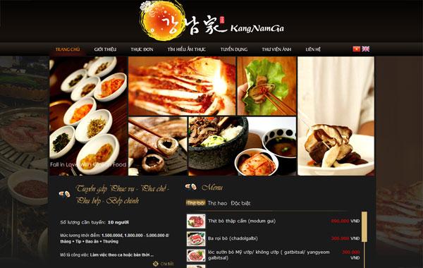 nhahang trangchu ATPWeb.vn - Khởi tạo ngôi nhà Online.