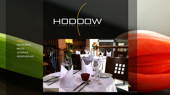 hoddows 16 Beautiful Restaurant Websites