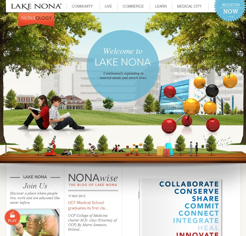 Lake Nona cool travel sites