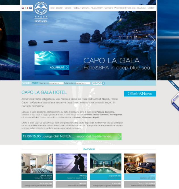 Hotel Capolagala 20+ Best Hotel Website Designs For Your Design Inspiration
