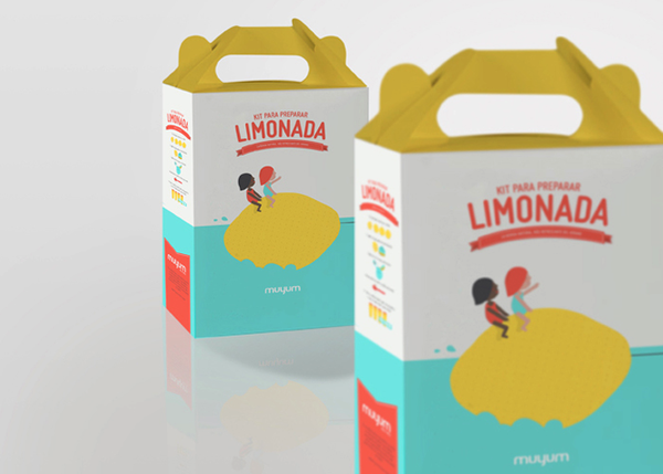 MUYUM healthy food for kids packaging
