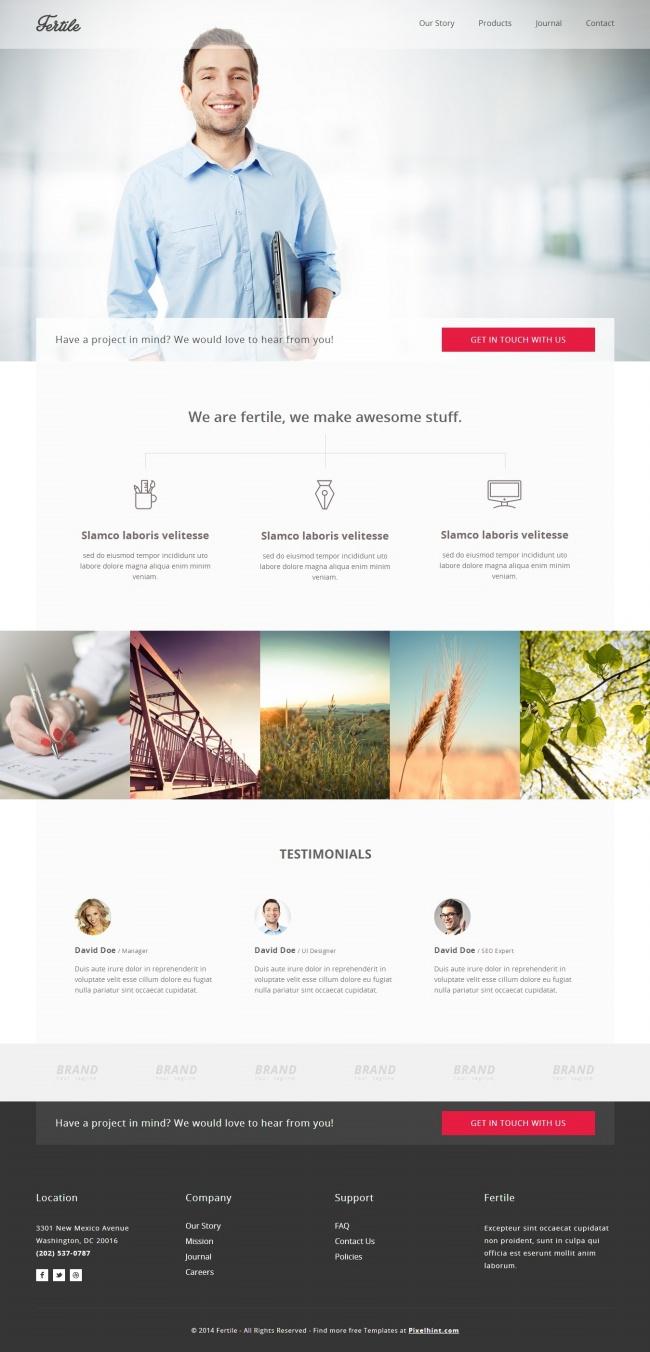 Tải về mẫu thiết kế web 01