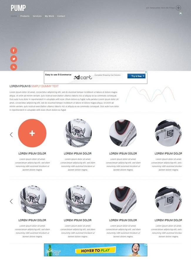 Tải về mẫu thiết kế web 10