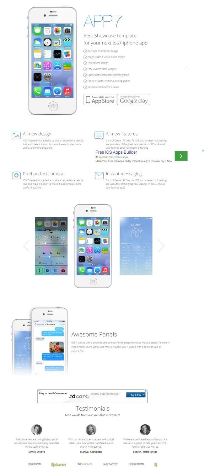 Tải về mẫu thiết kế web 11