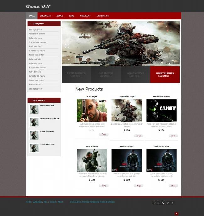 Tải về mẫu thiết kế web 13