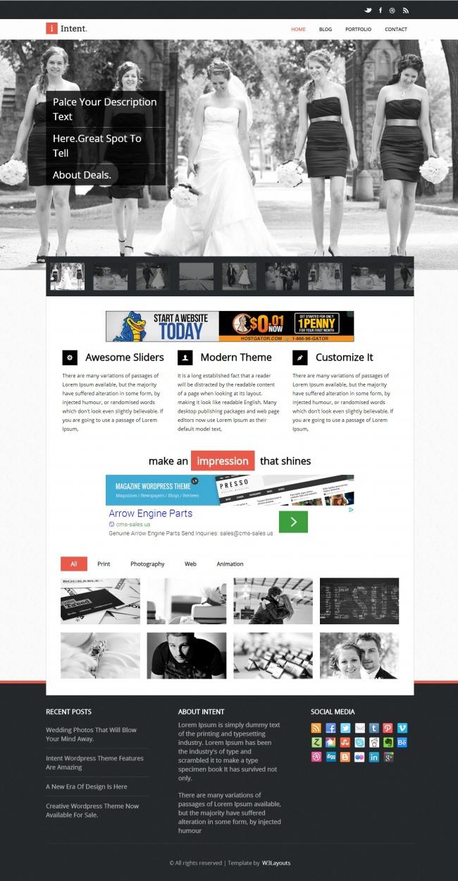 Tải về mẫu thiết kế web 14