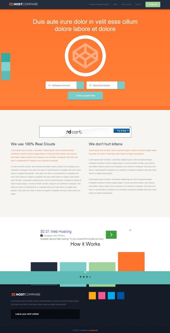 Tải về mẫu thiết kế web 16