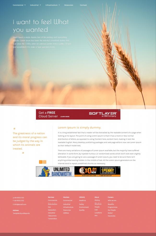Tải về mẫu thiết kế web 18