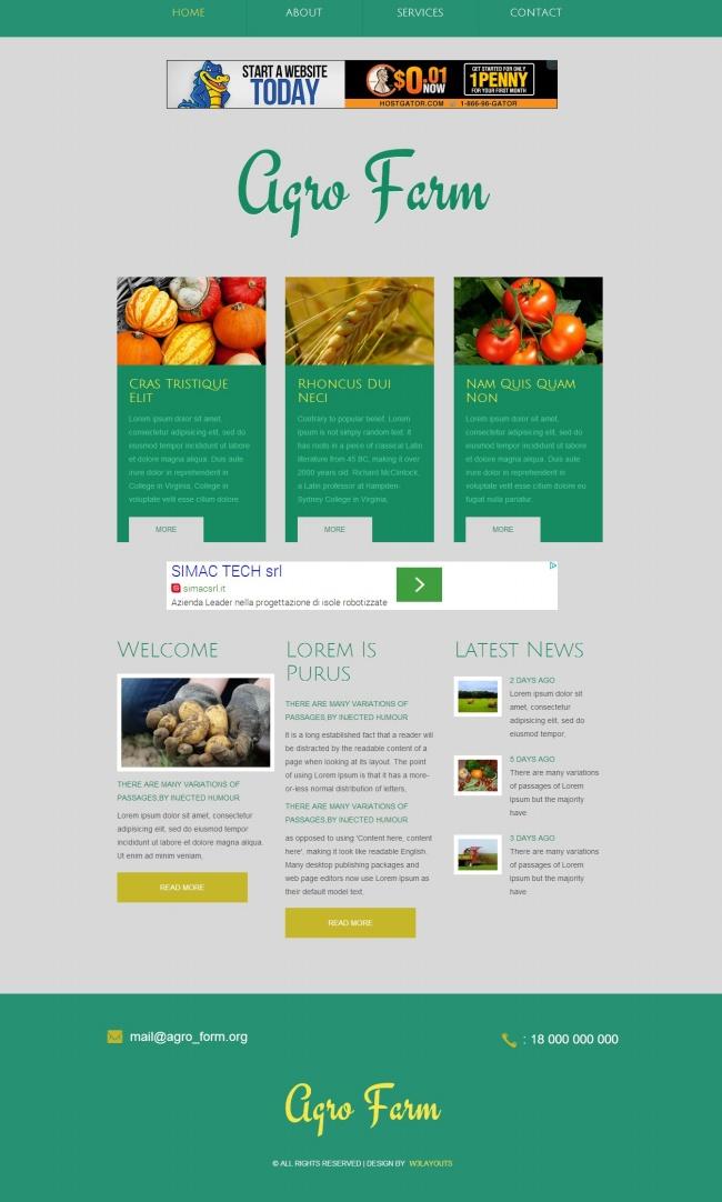 Tải về mẫu thiết kế web 19
