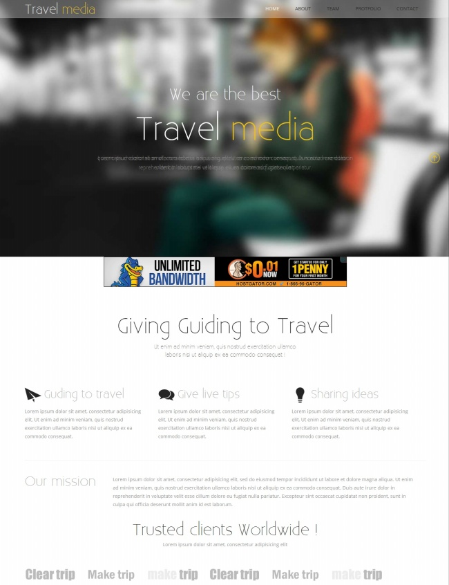 Tải về mẫu thiết kế web 20