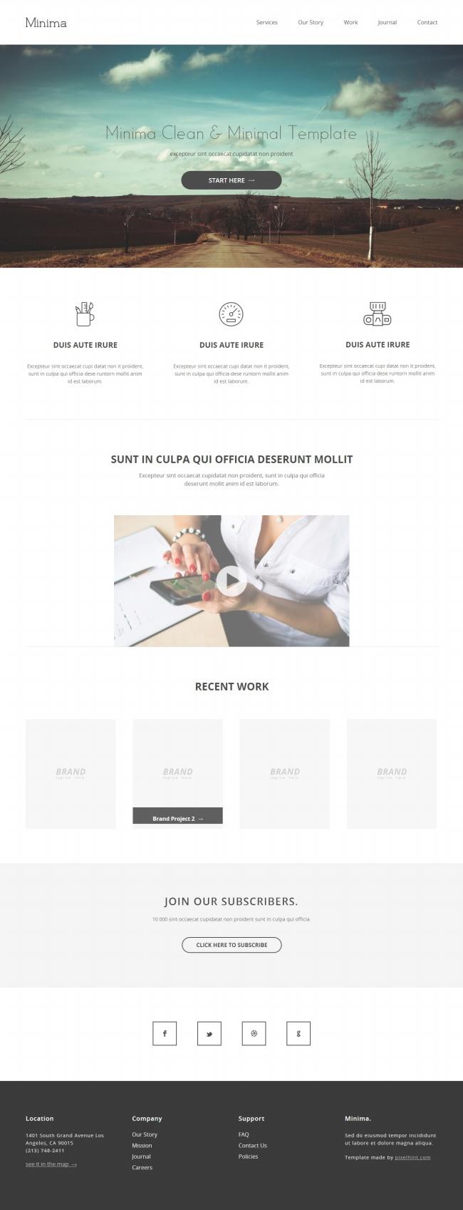 Tải về mẫu thiết kế web 07