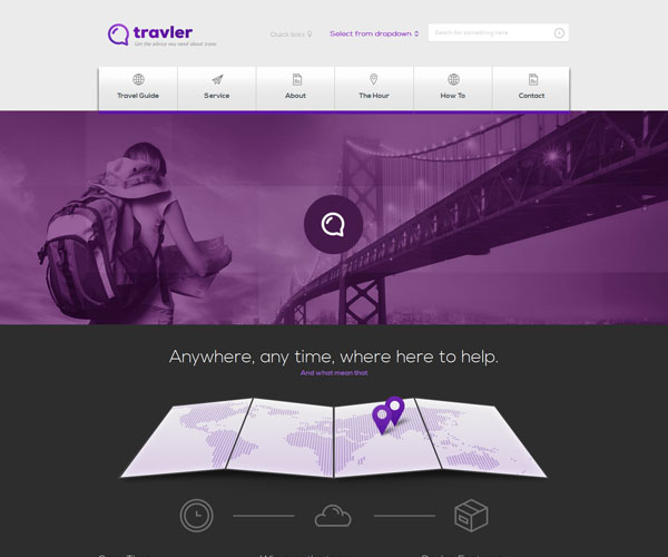 Travler Website Template