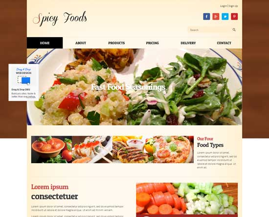 Spicy-Food--free-food-corners-responsive-Website-Template
