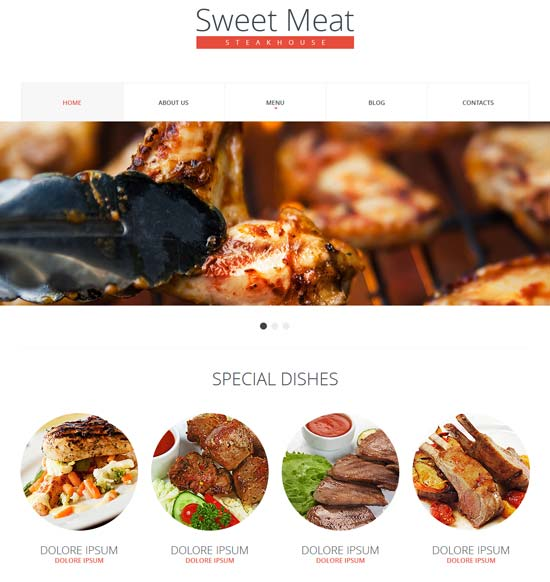 Steakhouse-Responsive-Website-Template