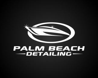 Palm Beach Detailing Logo