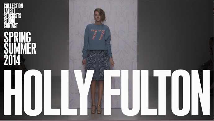 Screenshot from Holly Fulton's site