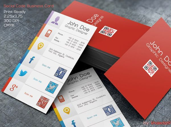 Social-Code-Business-Card