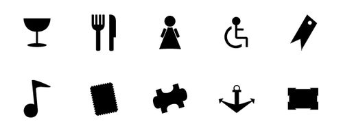 25 Free Minimalist Vector Symbols And Icons