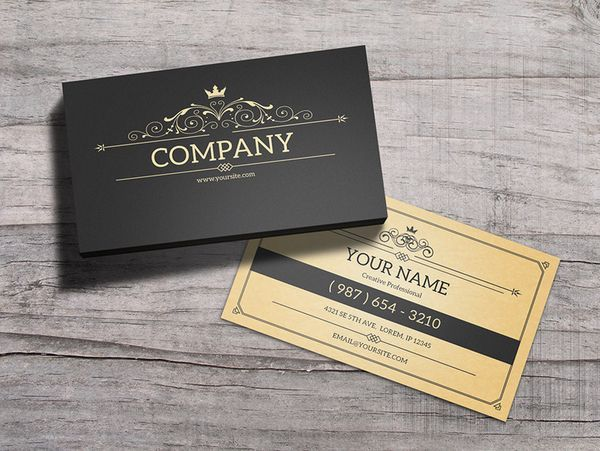 York-Vintage-Business-Card-Template