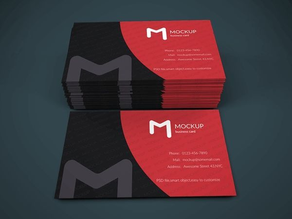 Free Business Card Mockup Vol.1