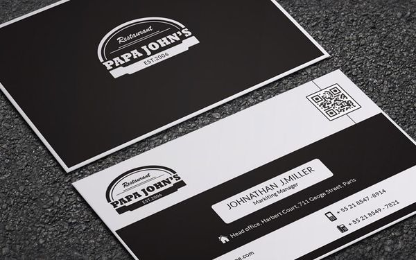 papa-john-business-card