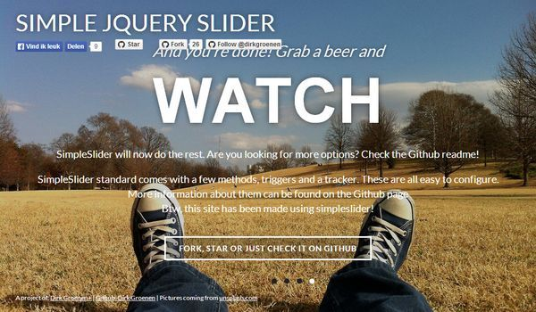 Responsive & Touch-Enabled jQuery Slider Plugin - Simple Slider