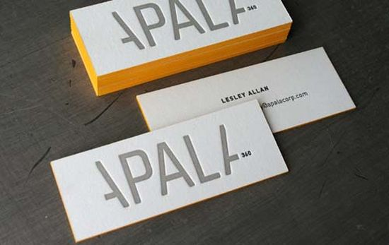 typographic business cards designs 01