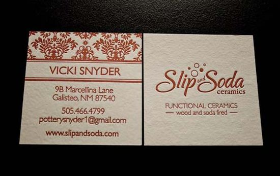 typographic business cards designs 03