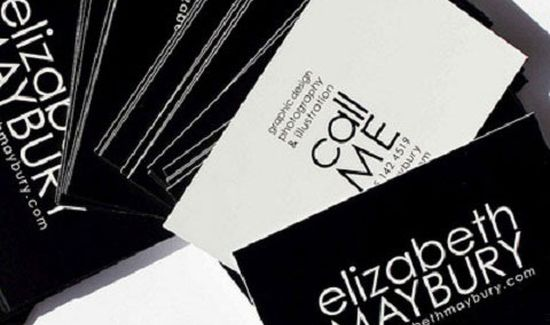 typographic business cards designs 05