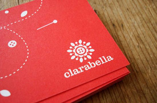 typographic business cards designs 08