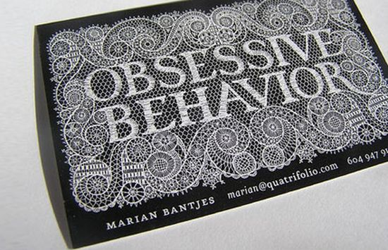 typographic business cards designs 10