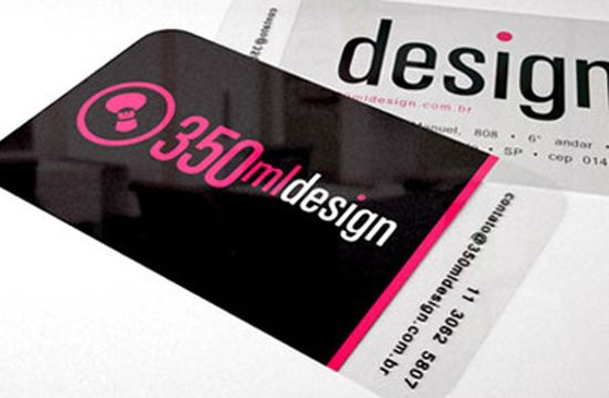 typographic business cards designs 14
