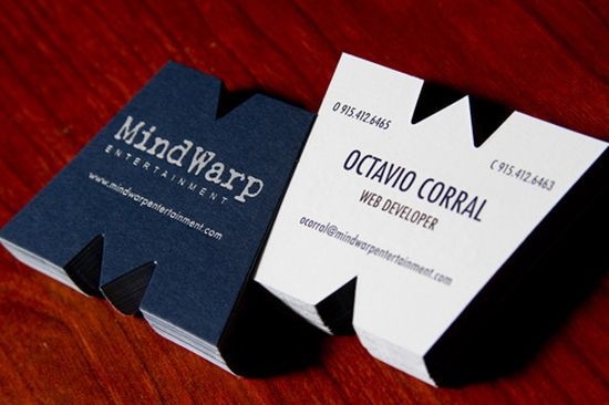 typographic business cards designs 19