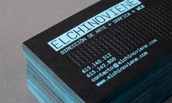 typographic business cards designs 20