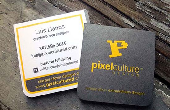 typographic business cards designs 21