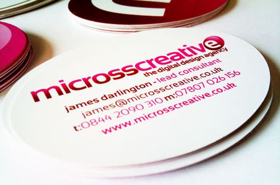 typographic business cards designs 22