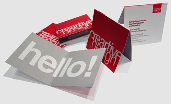 typographic business cards designs 23