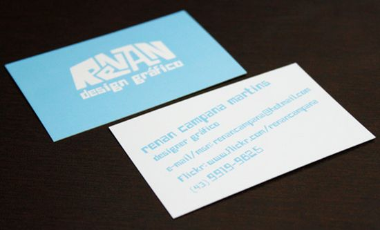 typographic business cards designs 25