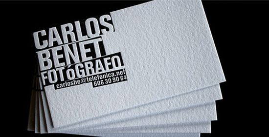 typographic business cards designs 26