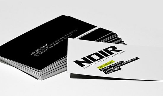 typographic business cards designs 33