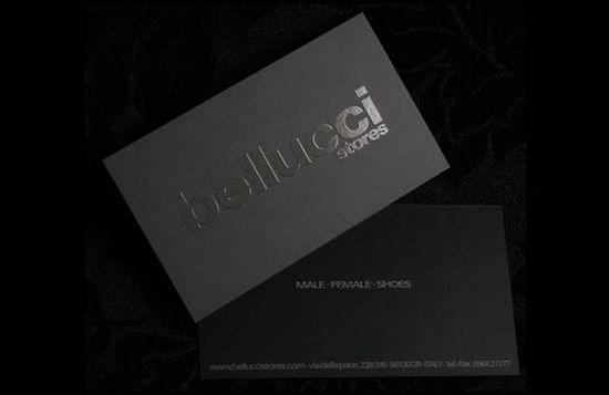 typographic business cards designs 35