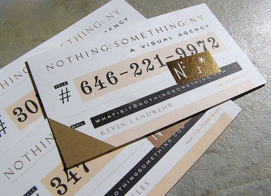 typographic business cards designs 37
