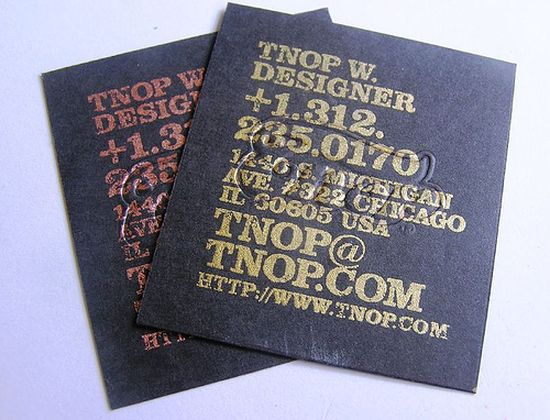 typographic business cards designs 41