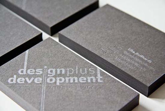 typographic business cards designs 48