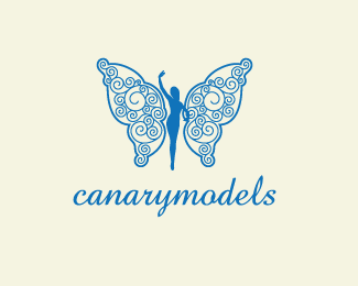 CanaryModels Beautiful Animal and Pet Logo Designs
