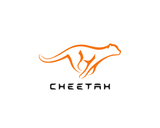 Cheetah Beautiful Animal and Pet Logo Designs