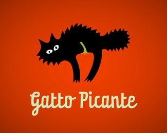 Gatto Picante Beautiful Animal and Pet Logo Designs
