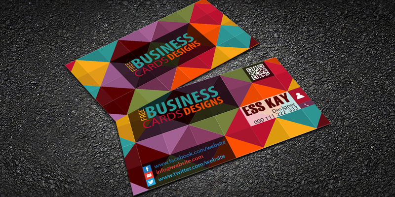 Classy-Creative-Business-Card-With-QR-Code-2015