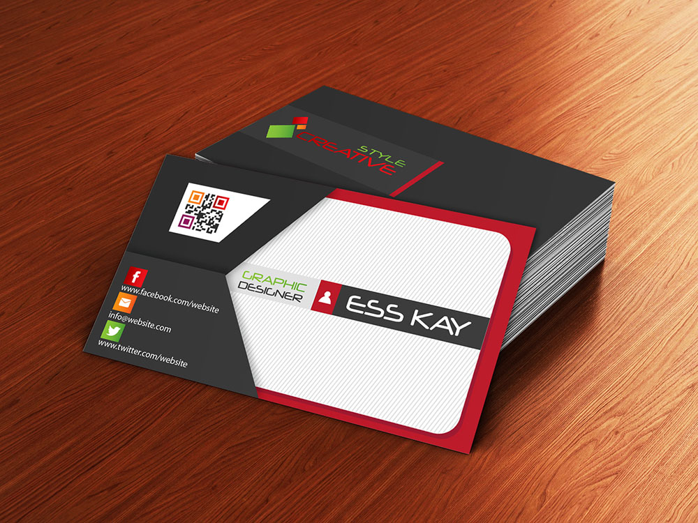 Envelope-Style-Creative-Business-Card-With-QR-Code-2015