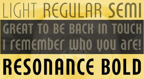 Resonance Bold